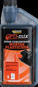 Everbuild Opti-mix Super Concentrate Mortar Plasticiser - 1Ltr