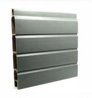 Composite Fence Gravel Board - 6ft x 1ft - Carbon Grey