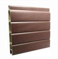 Composite Fence Gravel Board - 6ft x 1ft - Chestnut Brown