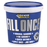 Everbuild Fill Once 650ml ready mixed wood and wall filler