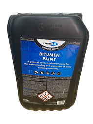 Bitumen Paint 25Ltr General Purpose Waterproofing Paint - Bond it