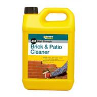 Everbuild 401 Brick & Patio Cleaner Acid Based - 5Ltr