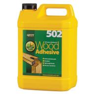 Everbuild 502 All purpose weatherproof wood adhesive - 5Ltr