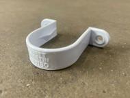 32mm Waste Pipe Clip - White