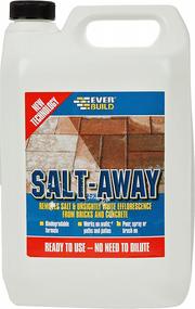 Everbuild Salt Away 5Ltr Efflorescence and Salt Remover