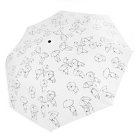 B&W Sketch Umbrella