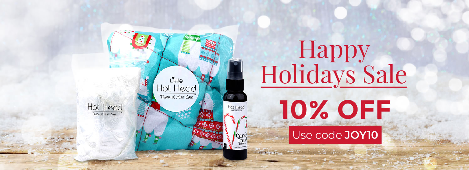 Microwavable Deep Conditioning Heat Cap Holiday Sale