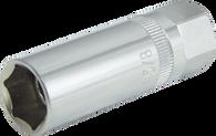 """SKU : 528  -  Magnetic Spark Plug Socket - 5/8"""" Size, 3/8"""" Dr."""