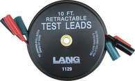 SKU : 1129  -  Retractable Test Leads - 3 Leads x 10 ft.