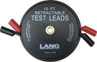 SKU : 1140  -  Retractable Test Leads - 2 Leads x 10 ft.