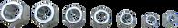 SKU : 2590  -  7-PC. SAE Coarse Thread Restorer Die Set