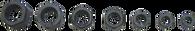 SKU : 2592  -  7-PC. SAE Fine Thread Restorer Die Set