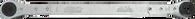 "SKU : 8579  -  Ratcheting Serpentine Belt Wrench 15mm 6-pt. x 3/8""male square x 16mm 6-pt."