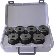 SKU : 41670  -  7-Piece Axle Nut Socket Kit