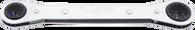 "SKU : RB-2630  -  13/16"" X 15/16"" Flat Ratchet Box Wrench"