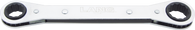 """SKU : RB-810DH  -  1/4"""" X 5/16"""" 12 Pt. Flat Ratchet Box Wrench"""