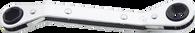 SKU : ROWM-1113  -  11mm X 13mm 6 Pt. Offset Ratchet Box Wrench