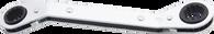 SKU : ROWM-1921  -  19mm X 21mm 12 Pt. Offset Ratchet Box Wrench