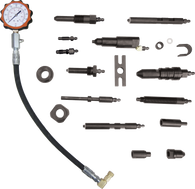 SKU : TU-15-70  -  Diesel Compression Test Set With Tester and Adapters