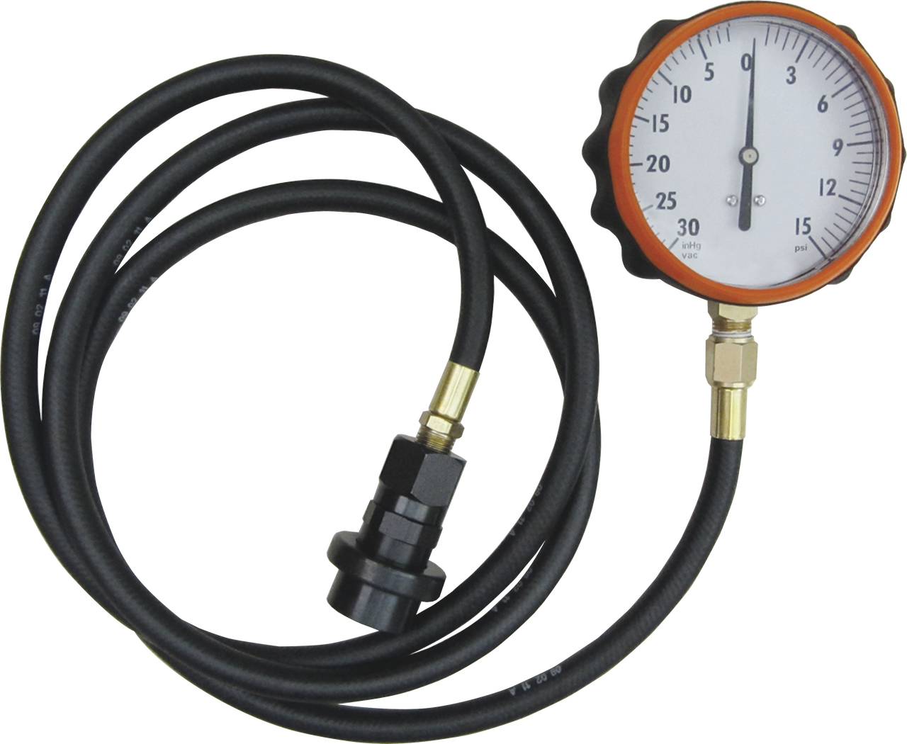 Manicar TU-32-6 Fuel System Test Kit Compatible with 6.6 L GM Duramax Diesel with Hose and Quick Coupler