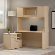 BBF 300 Series Office Furniture - Natural Maple