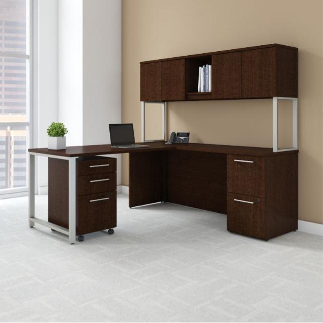Bush Business Furniture 300 Series - Mocha Cherry