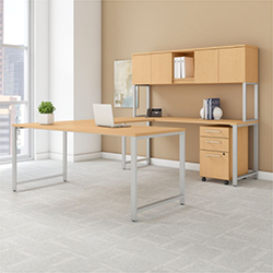 Bush Business Furniture 400 Series - Natural Maple
