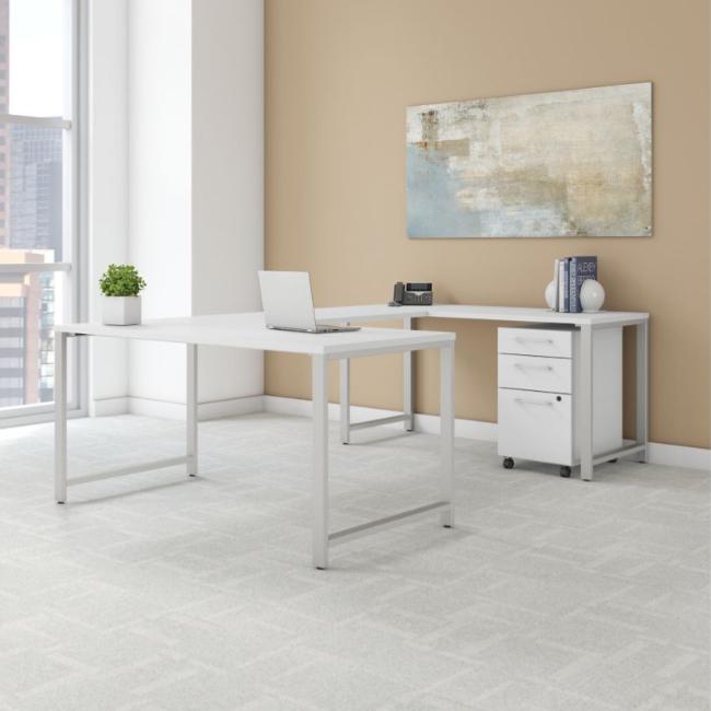 Bush Business Furniture 400 Series - White
