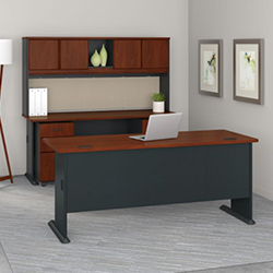 Bush Business Furniture Series A - Hansen Cherry
