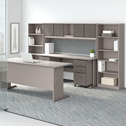 Bush Business Furniture Series A - Pewter