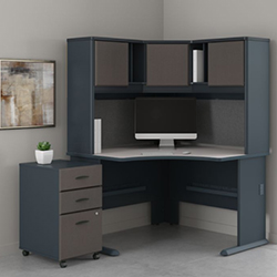 Bush Business Furniture Series A - Slate