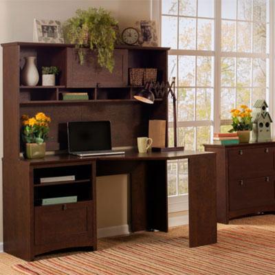 Bush Furniture Buena Vista Collection - Madison Cherry