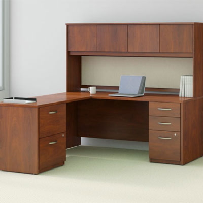 Bush Business Furniture Series C Elite - Hansen Cherry