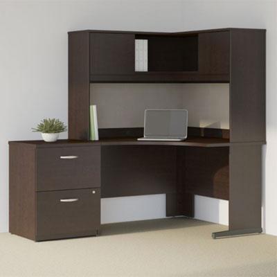 Bush Business Furniture Series C Elite - Mocha Cherry