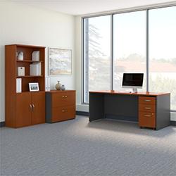 Bush Business Furniture Series C - Auburn Maple