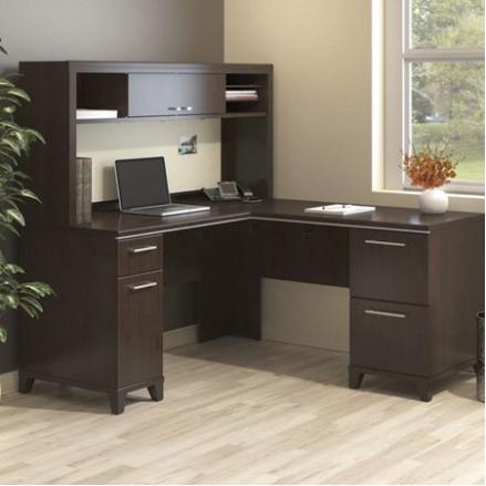Bush Business Furniture Enterprise Collection - Mocha Cherry