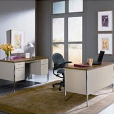 HON 34000 Series Steel Desks