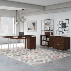 Bush Business Furniture Method Collection – Century Walnut