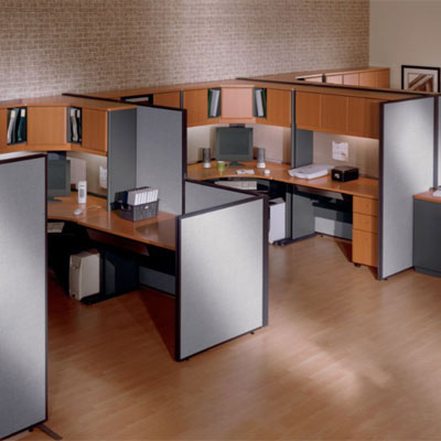 Bush ProPanel Collection Privacy Office Panels