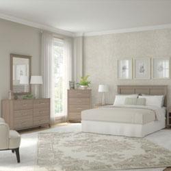 Bush Furniture Somerset Bedroom Collection – Ash Gray