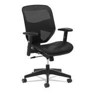 Basyx Mesh High-Back Task Chair Black - VL534MST3