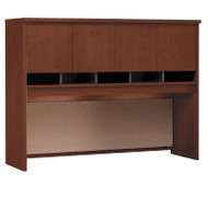 "Bush Business Furniture Series C Hutch 4-Door 60"" Hansen Cherry - WC24462K"