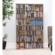 Atlantic Oskar Media Cabinet 756 CD Maple - 38435712