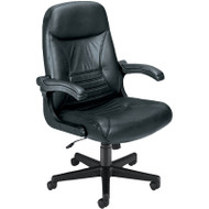 OFM MobileArm Leather Executive Chair - 550-L