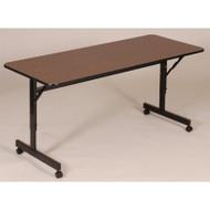 Correll Melamine FlipTop Table 72 - FT2472M
