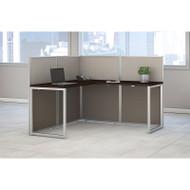 """MONTHLY SPECIAL! Bush Furniture Easy Office L-Shaped Desk 60"""" - EOD360MR-03K"""