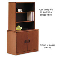 HON 10700 Series Locking Storage Cabinet with Hutch - 107291 107292