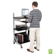 Balt Alekto Compact Sit & Stand Workstation  - BLT-42551