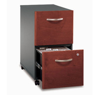 Bush Business Furniture Series C Mobile File Cabinet 2-Drawer Hansen Cherry - WC24452