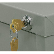Safco Lock Kit for Five-Drawer Flat File - 4981